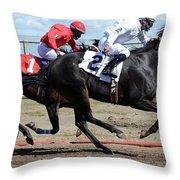 Horse Power 7 Throw Pillow