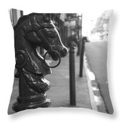 Horse Tie 1 Throw Pillow