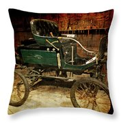 Horseless Carriage Throw Pillow by Ernie Echols