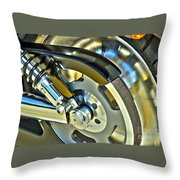 Horsepower Transfer  Throw Pillow