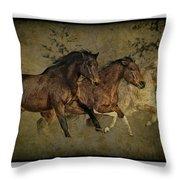 Horses 30 Throw Pillow
