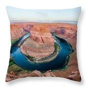Horseshoe Bend Near Page Arizona Throw Pillow