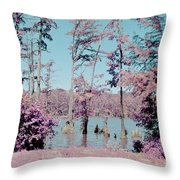 Horseshoe Conservation Area Infrared Throw Pillow