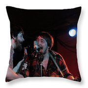 Horseshoes And Hand Grenades Turf Club Throw Pillow