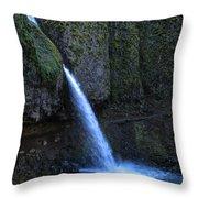 Horsetail Falls 1 Throw Pillow