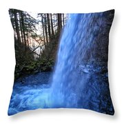 Horsetail Falls 2 Throw Pillow