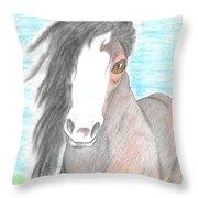 Horsin' Around Throw Pillow