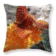 Horton Butterflies Throw Pillow