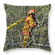 Hose Advance Throw Pillow