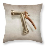 Hose Master Throw Pillow