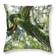 Host Tree Throw Pillow