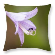 Hosta Throw Pillow