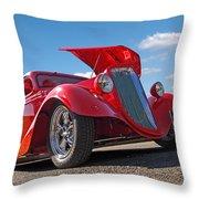 Hot '34 Throw Pillow