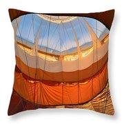 Hot Air Ballon 5 Throw Pillow