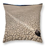 Hot And Dry Throw Pillow