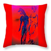 We Have The Hot Burning Feelings All Around Us All The Time  Throw Pillow