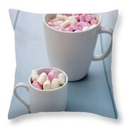 A Sweet Tooth Throw Pillow