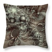 Hot Chocolate Possibilities Throw Pillow
