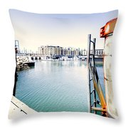 Hot Day Throw Pillow