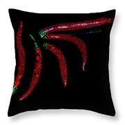 Hot Designs Throw Pillow