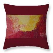 Hot Energy Throw Pillow