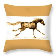 Hot Footed Throw Pillow