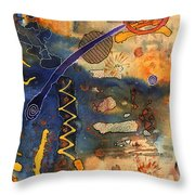Hot Fun Out West In Arizona Throw Pillow