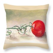 Hot-house Tomato Throw Pillow