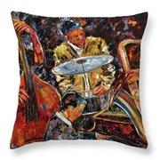 Hot Jazz Series 4 Throw Pillow