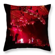 Hot Night Throw Pillow
