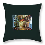 Hot Noon Throw Pillow
