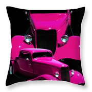 Hot Pink 33  Throw Pillow