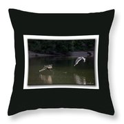 Hot Pursuit  Throw Pillow