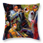 Hot Quartet Throw Pillow