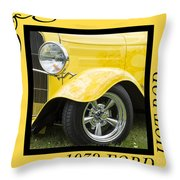 Hot Rod 10 Throw Pillow