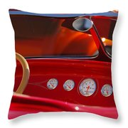 Hot Rods Throw Pillow