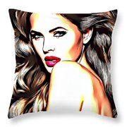 Hot Sexy Baby 14 Throw Pillow