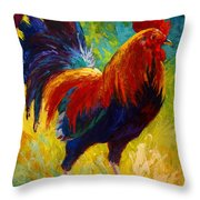 Hot Shot - Rooster Throw Pillow