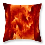 Hot Space Throw Pillow
