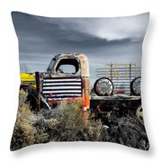 hot springs day-2351-2-R1 Throw Pillow