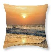 Hot Summer Sun Throw Pillow