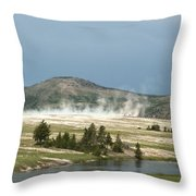 Hot Time Throw Pillow