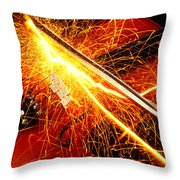 Hot Violin Throw Pillow by Garry Gay
