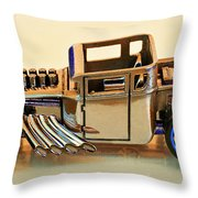 Hot Wheels Bone Shaker Hotwheels Throw Pillow