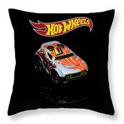 Hot Wheels Rocket Box Throw Pillow