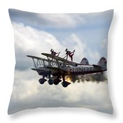 Hot Windwalkers Throw Pillow