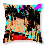 Hot Winter Throw Pillow by Eikoni Images