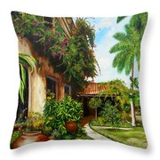 Hotel Camaguey Throw Pillow