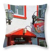 Hotel Cavalier Du Moulin  6373 Throw Pillow