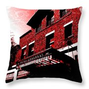 Hotel Congress Throw Pillow